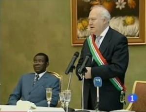 Obiang y Moratinos