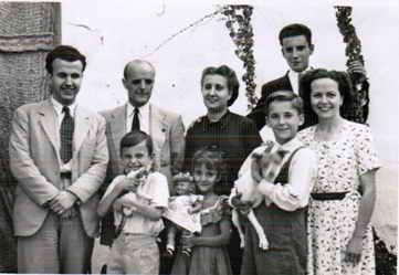 Alfredo Malo Zarco en familia