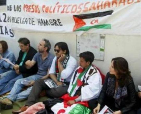 El mundo de la cultura apoya al saharaui Lafkir Kaziza en huelga de hambre desde hace doce días. Foto Poemario por un Sahara Libre