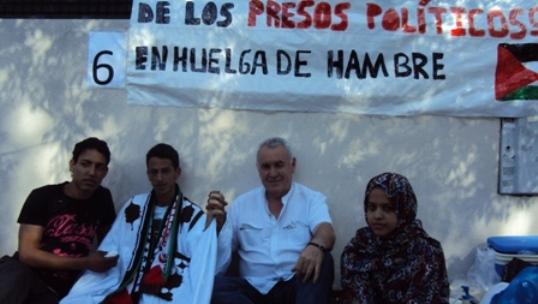 Huelga de hambre por la libertad de los presos politicos