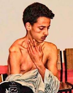 Lafkir Kaziza, tras ser torturado