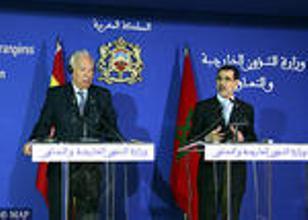 Margallo en Marruecos