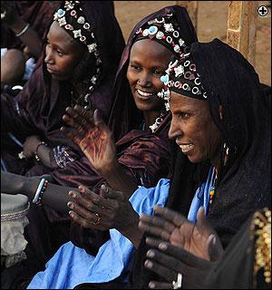 Mujeres tuaregs