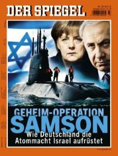 revista-der-spiegel-con-la-venta-de-submarinos-alemanes-a-israel