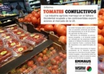 Tomates procedentes de Marruecos con etiqueta española