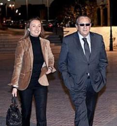 La diputada del PP, Andrea Fabra, y su padre, Carlos Fabra