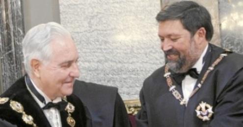 Dos ex: Carlos Divar y Francisco Caamaño