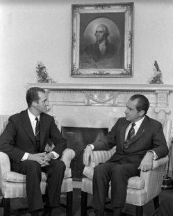 Juan Carlos y Nixon