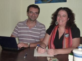 Juan Sebastián Fernández Prados y María del Mar Verdejo Coto