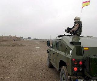 Soldados españoles en Afganistán (Foto de archivo)