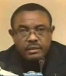 Hailemariam Desalegn,, primer ministro de Etiopia