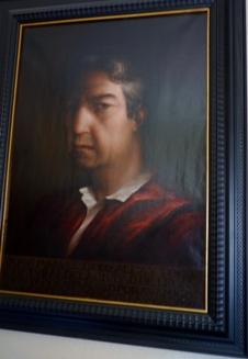 José Manuel González Torga pintado por Roberto Soravilla