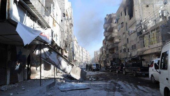 Siria destruida (Foto RIA Novosti)