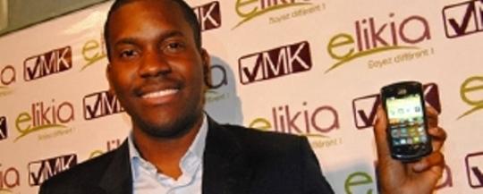 Vérone Mankou, creador del  primer smartphone para africanos