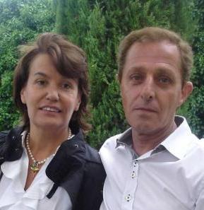 Ingrid Sartiau y Albert Solà Jiménez, los dos presuntos hijos del Rey de España