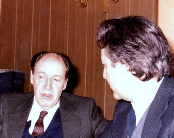 Juan Linz y J.M. González Torga