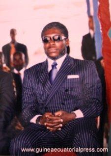 Teodoro Nguema Obiang, Teodorín. Foto Oficina de Prensa de Guinea Ecuatorial