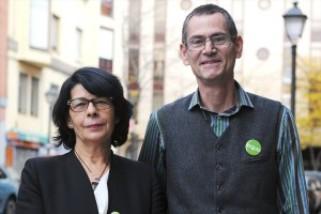 Inés Sabanés y Ramón Linaza