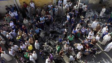 Masacre en Irak. Foto Perú21