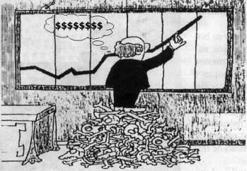 Amasando dinero (Desconocemos al autor)
