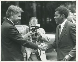 Felipe González y Obiang Nguema