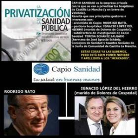 La Sanidad Pública se privatiza