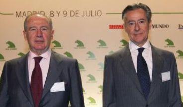 Rodrigo Rato y Miguel Blesa, ex prersidentes de Caja Madrid