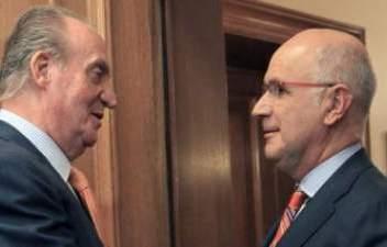 El Rey Juan Carlos y Durán i Lleida
