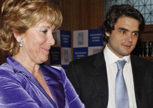 Esperanza Aguirre y Juan José Güemes