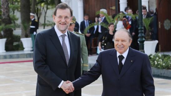 Mariano Rajoy y Abdedalziz Buteflika