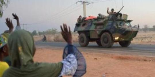 Tropas francesas en Malí (Foto RFI)