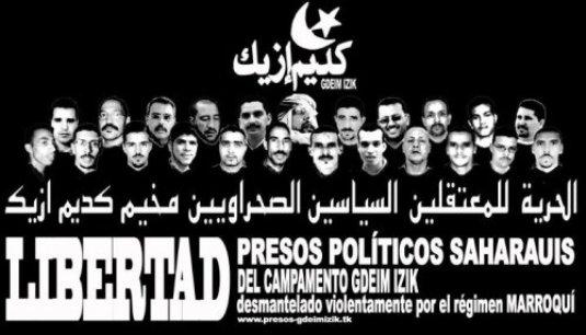 Libertad presos saharauis