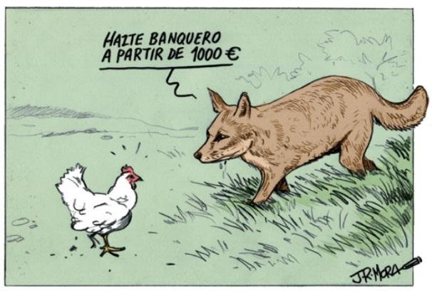 Los zorros y las gallinas