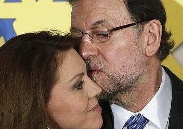 Cospedal y Rajoy: eran otros tiempos