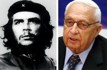 Ernesto Che Guevara y Ariel  Sharon