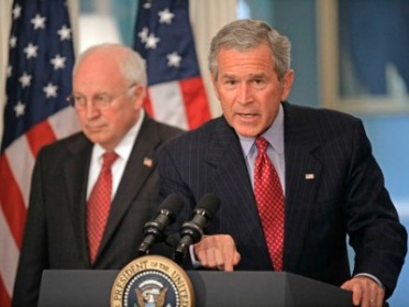 George W. Bush y Dick Cheney