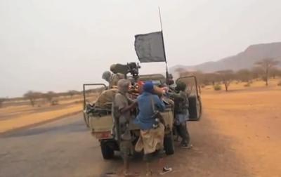 Combatientes yihadistas en el norte de Malí.
