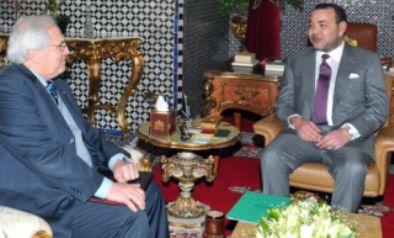Cristopher Ross y Mohamed VI