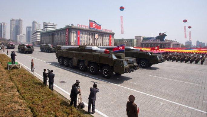 Desfile militar en Corea del Norte: foto RIA Novosti