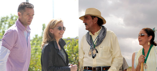 Los Duques de Palma, Julian Muñoz e Isabel Pantoja: Fotomontaje de diariofemenino,