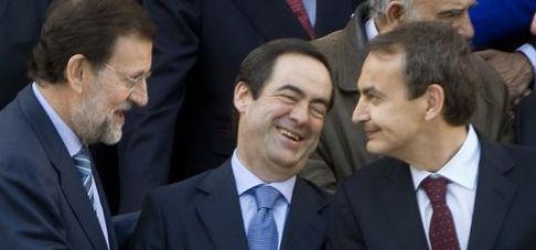 Rajoy, Bono y Zapatero