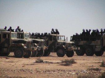 Fuerzas de ocupación de Marruecos en el Sáhara Occidental