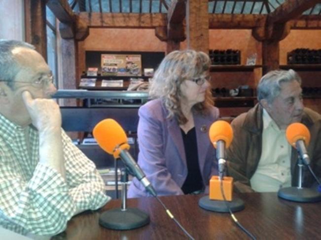 Diego Camacho, Ana Camacho y Javier Perote