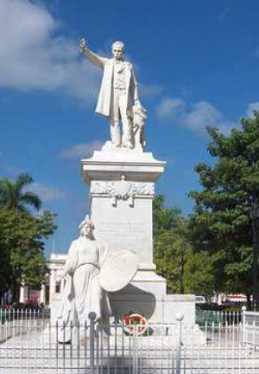 Estatua de José Martí en La Habana