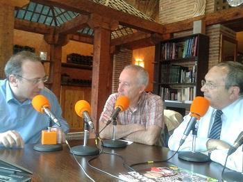 Javier Castro Villacañas, Eugenio Pordomingo y Diego Camacho