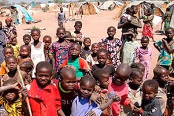 Niños en la Republica Centroafricana