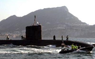 Submarinos en Gibraltar