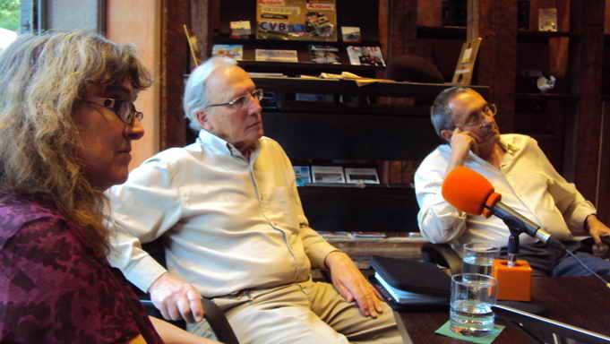 Ana Camacho, Carlos Trotta y Diego Camacho