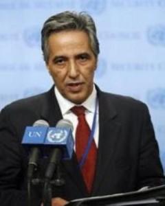Bujari Ahmed., representante del Frente Polisario ante la ONU