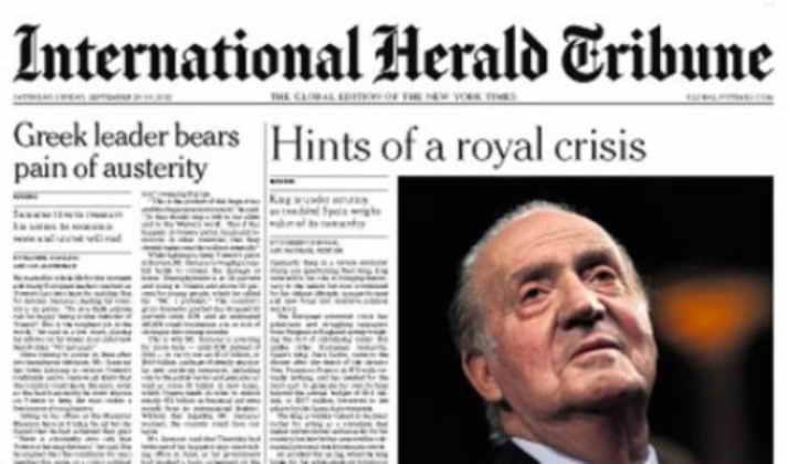 El Rey Juan Carlos I en la prensa internacional